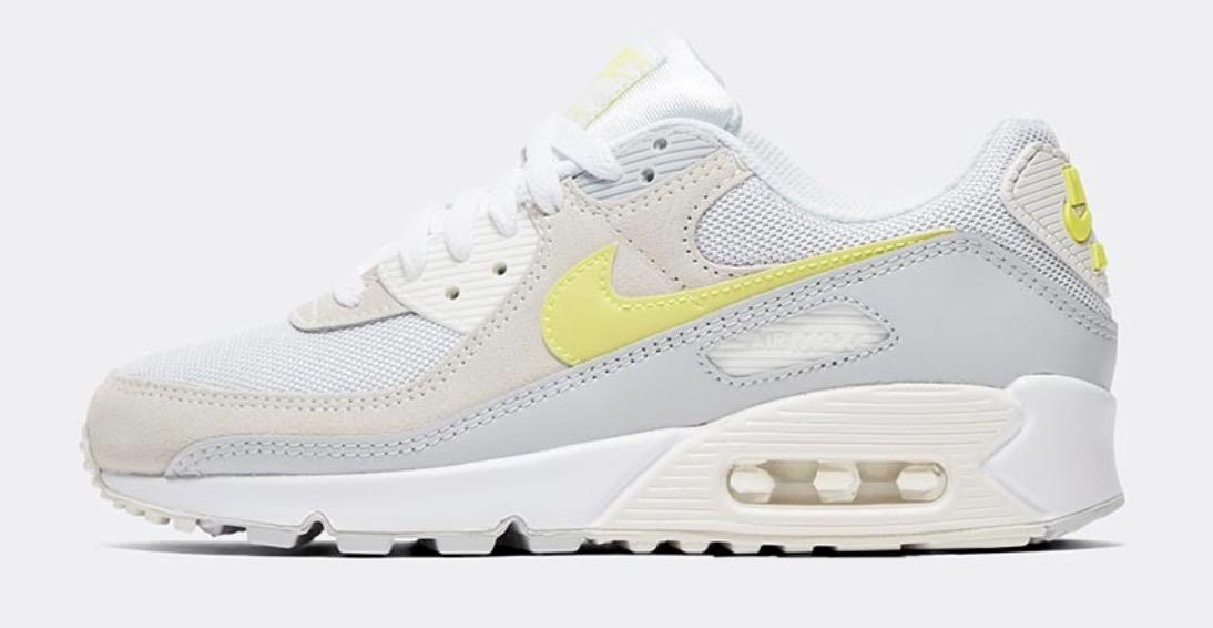 Nike Air Max 90 White Lemon Venom