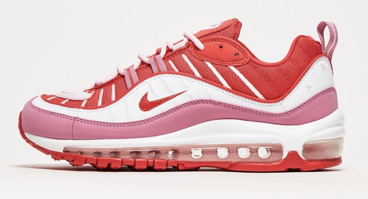 Nike Air Max 98 red pink