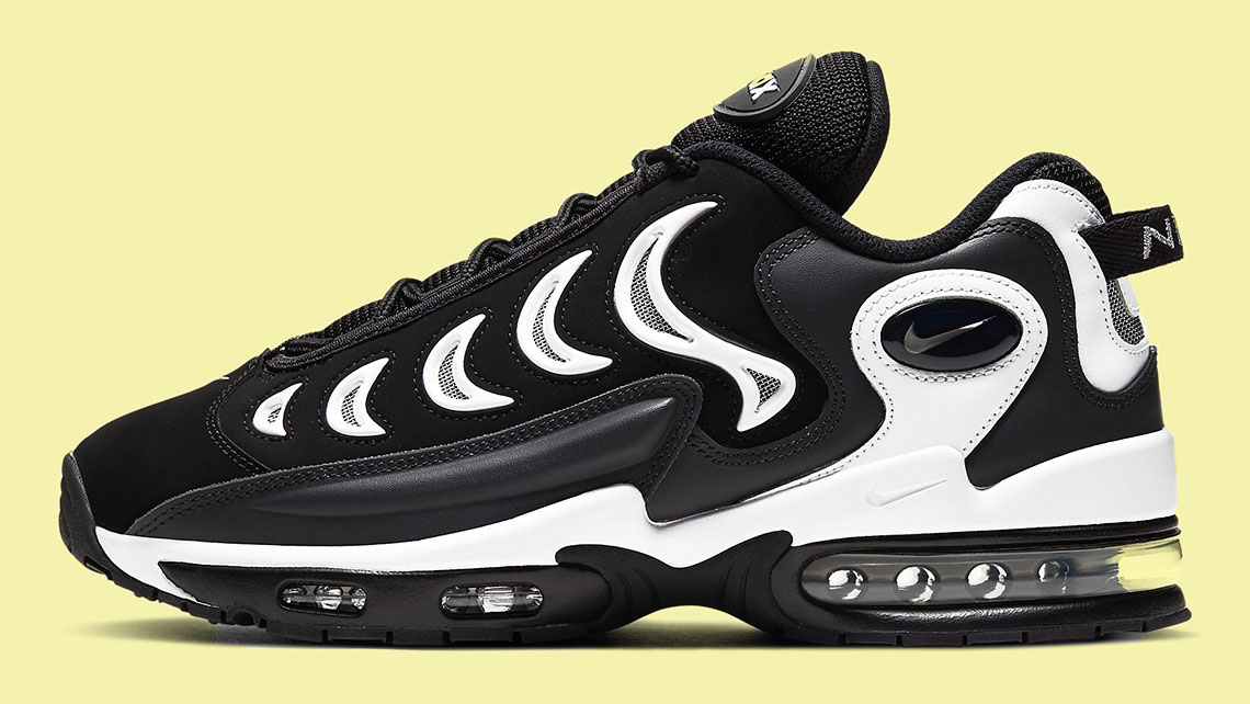 Nike Air Max Metal Black White side copy