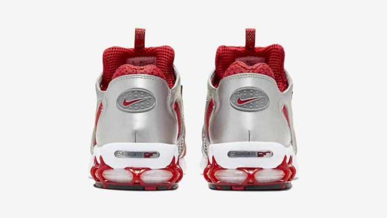 Nike Air Zoom Spiridon Cage 2 Varsity Red White Back thumbnail image