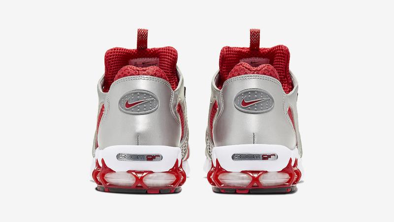 Nike Air Zoom Spiridon Cage 2 Varsity Red White Back