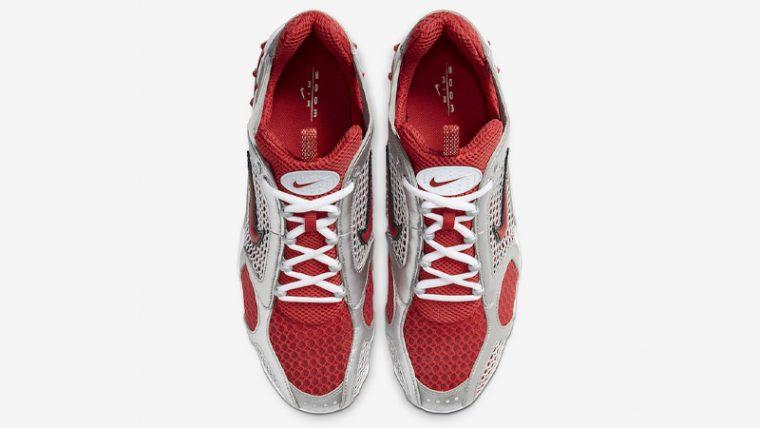 Nike Air Zoom Spiridon Cage 2 Varsity Red White Middle thumbnail image