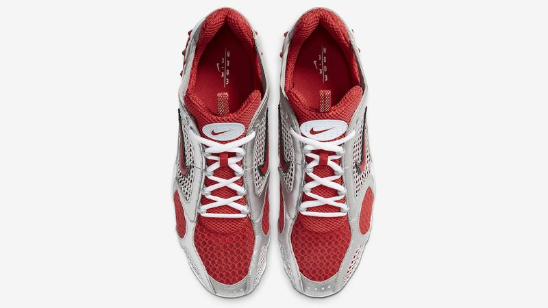 Nike Air Zoom Spiridon Cage 2 Varsity Red White Middle