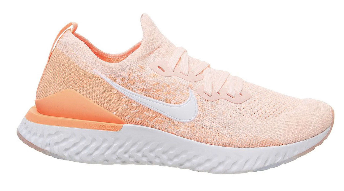 Nike Epic react Flyknit 2 sunset tint