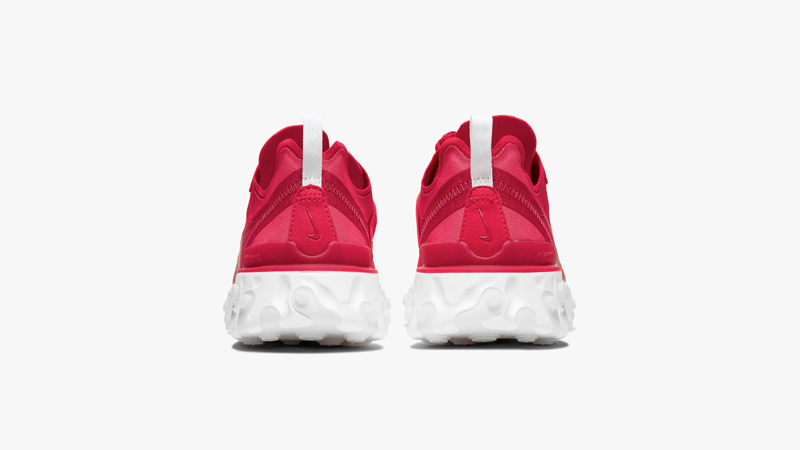 Nike React Element 55 Red Back