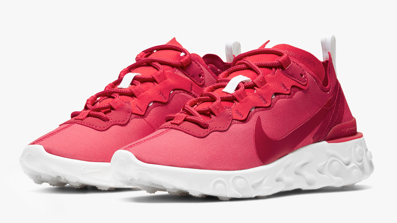 Nike React Element 55 Red Front