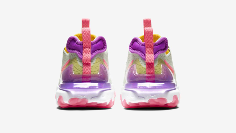 Nike React Vision Pistachio Frost Vivid Purple Back