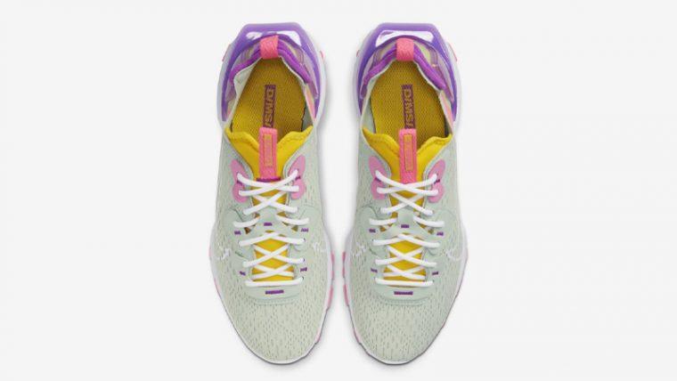 Nike React Vision Pistachio Frost Vivid Purple Middle thumbnail image
