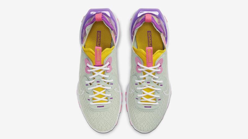 Nike React Vision Pistachio Frost Vivid Purple Middle