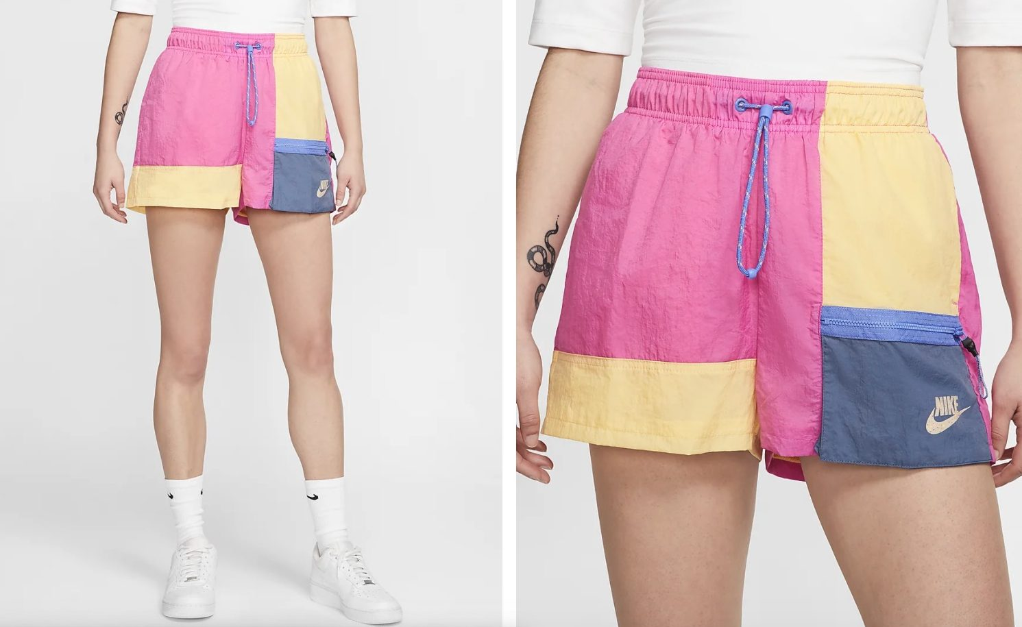 Nike Shorts Icon Clash Fire Pink