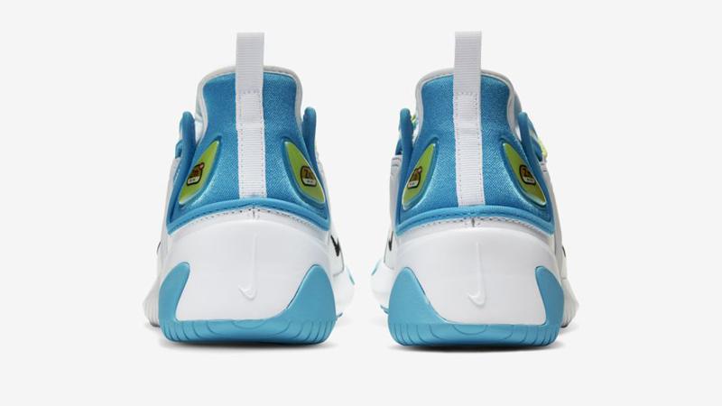 Nike Zoom 2K Blue Fury White Back