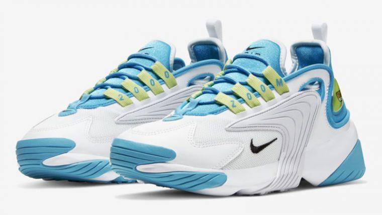 Nike Zoom 2K Blue Fury White Front thumbnail image