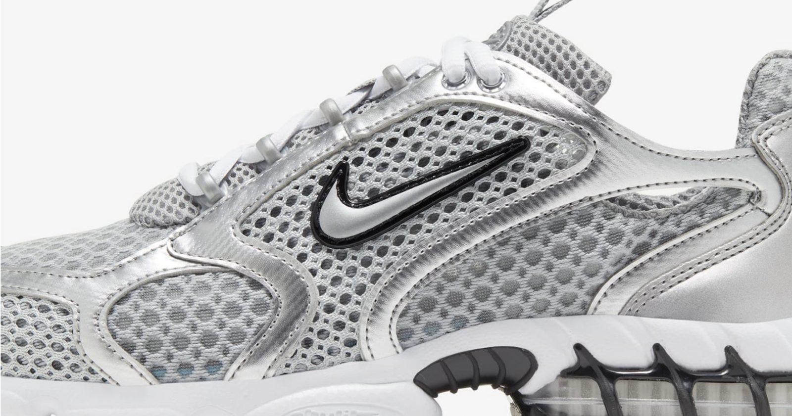 Nike air-zoom-spiridon-cage-2 metallic silver