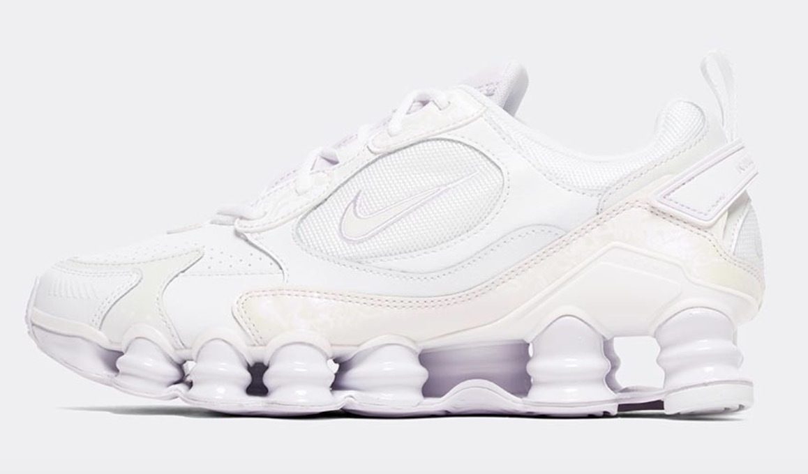 Nike shox nova tl barely grape
