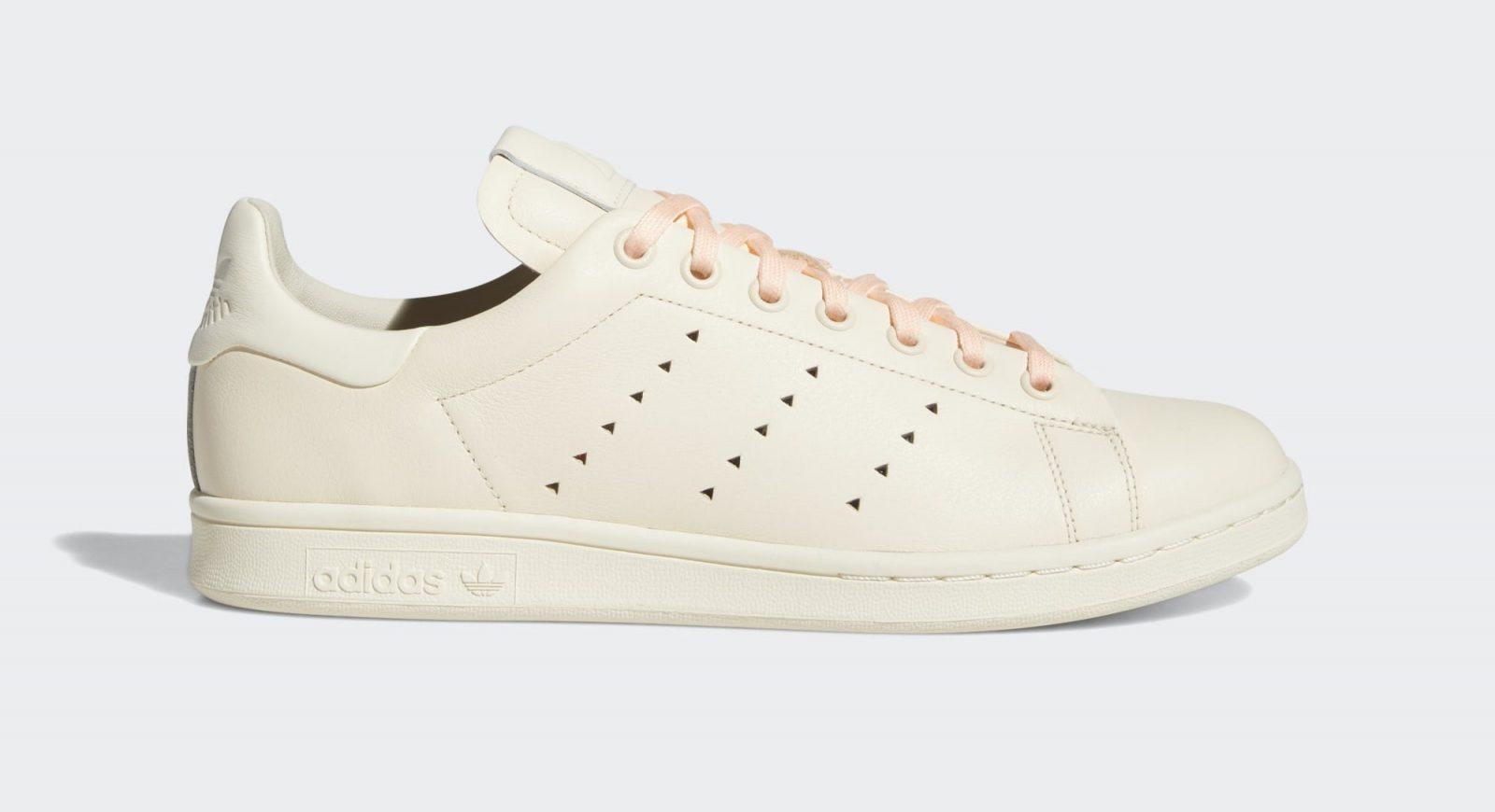Pharrell Williams x adidas Stan Smith cream pink