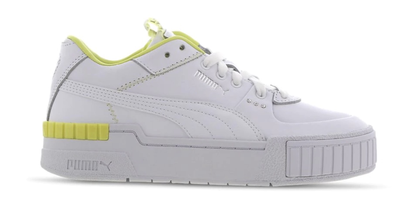 Puma Cali Sport White Yellow