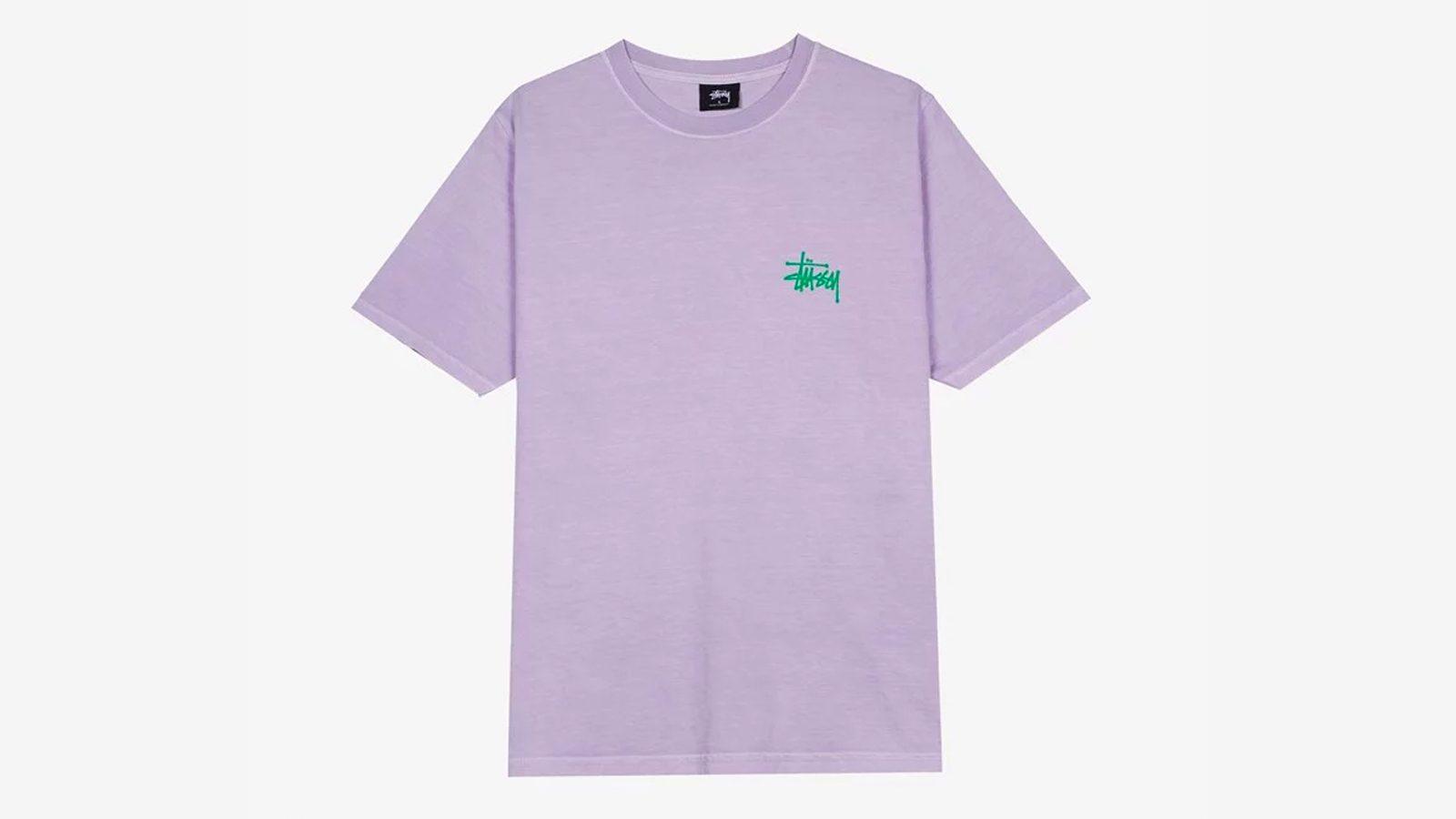 Stussy Basic Pig.Dyed Tee purple