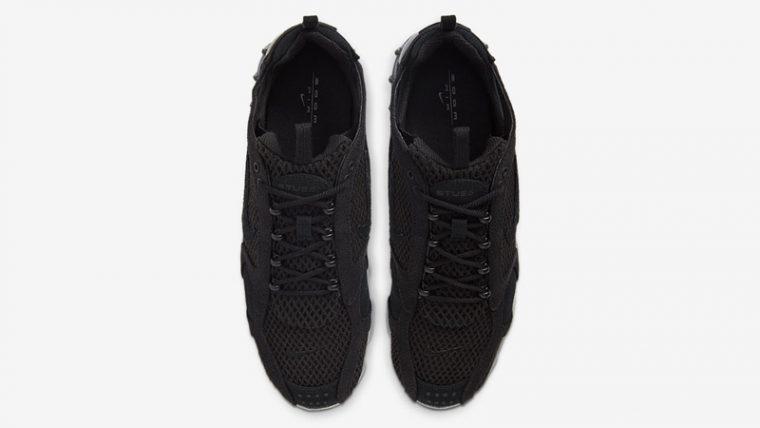 Stussy x Nike Air Zoom Spiridon Cage 2 Black Grey Middle thumbnail image