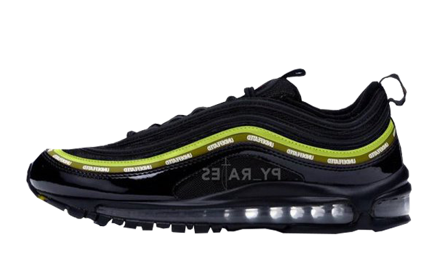 Undefeated x Nike Air Max 97 Black Volt-Militia