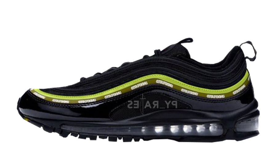 Undefeated x Nike Air Max 97 Black Volt-Militia