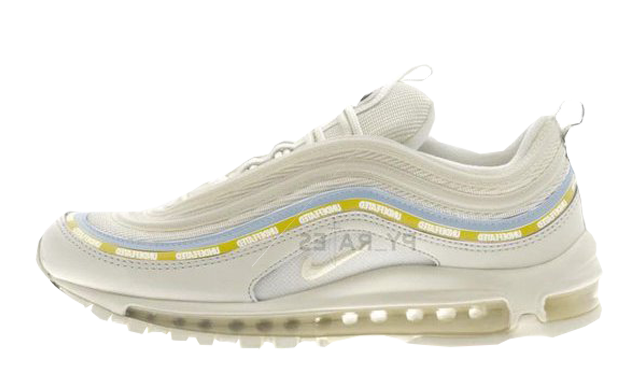 Undefeated x Nike Air Max 97 Sail White Midwest Gold