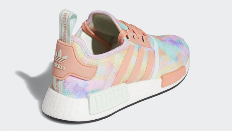adidas NMD R1 Easter Multicolor Back thumbnail image