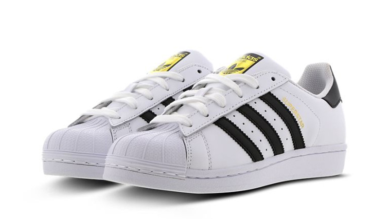 adidas Superstar 2 GS White Black C77154 front