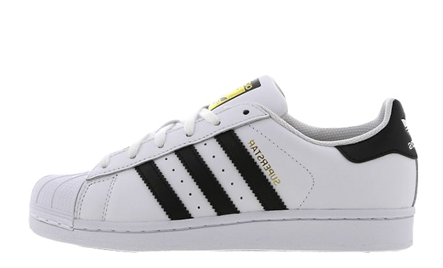 adidas Superstar 2 GS White Black C77154