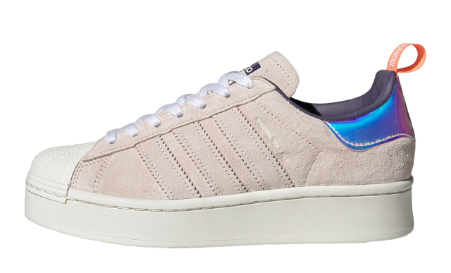 adidas Superstar Bold Girls Are Awesome Cloud White Icey Pink