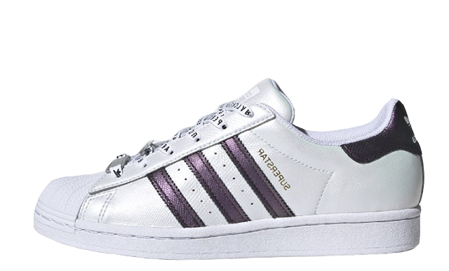 adidas Superstar Cloud White Purple Metallic FV3396