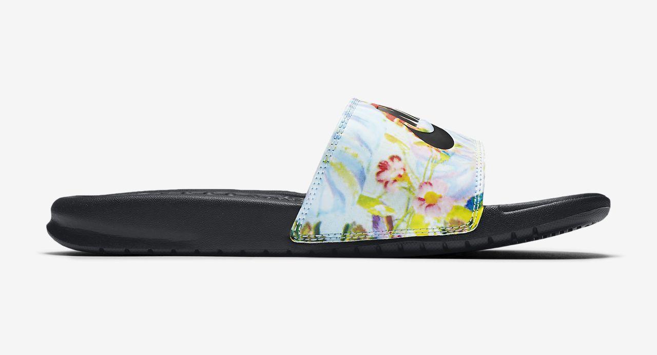 benassi-jdi Floral Slide white
