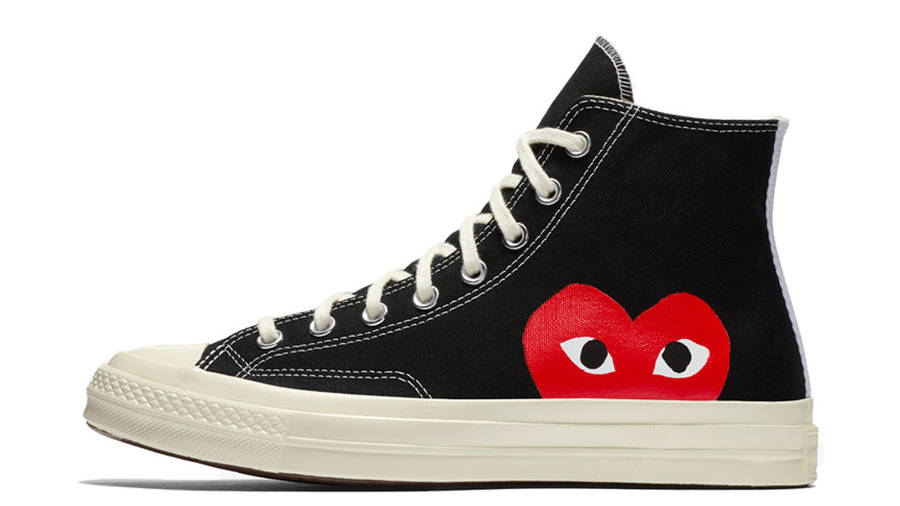 Comme des Garcons Play x Converse All Star Chuck Taylor Heart ...