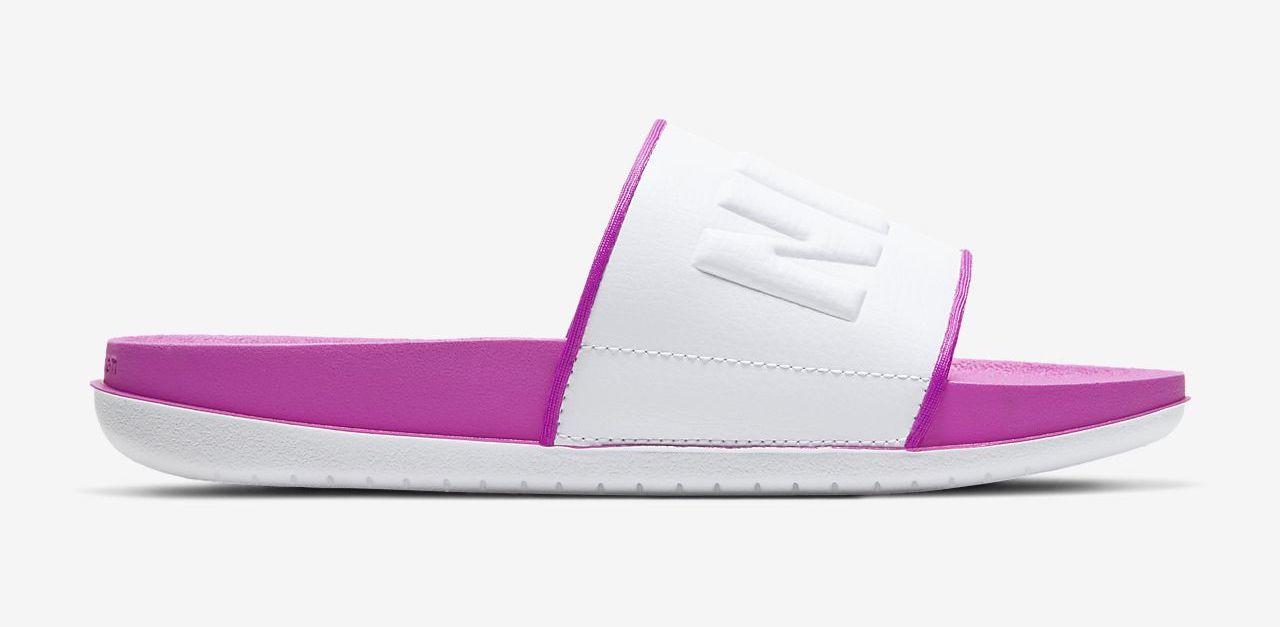 offcourt-slide pink white