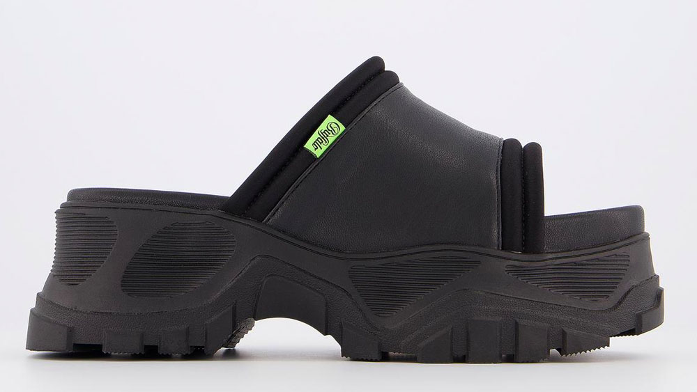 Buffalo Matrics Ot Mules Black