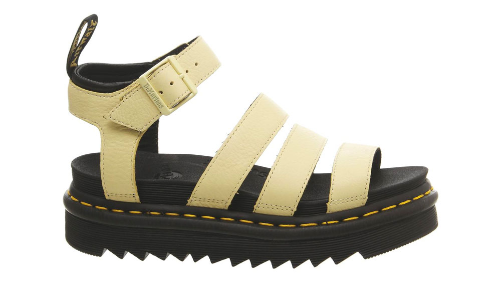 Dr. Martens Blaire Sandals Yellow