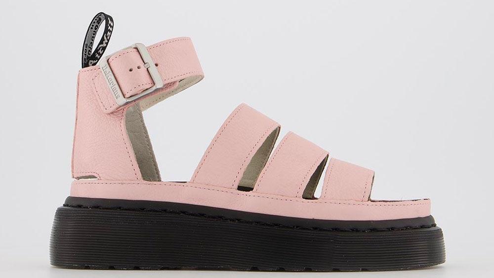 Dr. Martens Clarissa 2 Quad Sandals Pink