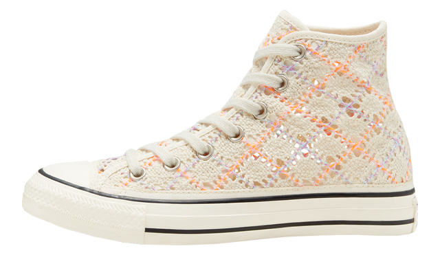 Converse Boho Crochet Chuck Taylor All Star High Top Egret