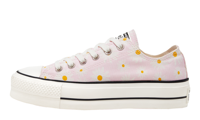 Converse Camp Daisies Platform Chuck Taylor All Star Low Pink