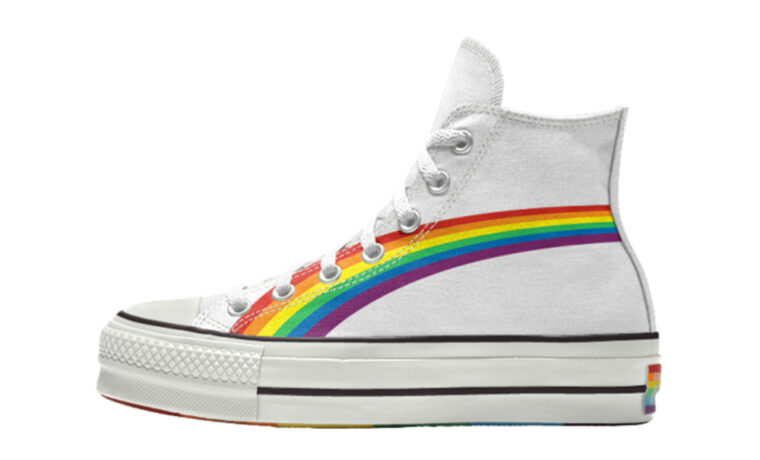 Converse Chuck Taylor All Star Hi Pride 2020 Rainbow White