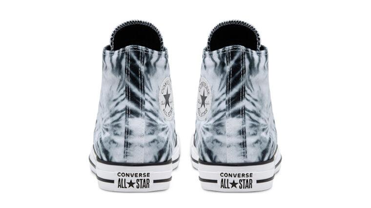 Converse Chuck Taylor All Star Twisted Vacation Black Lemongrass Back thumbnail image