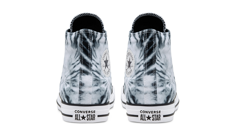Converse Chuck Taylor All Star Twisted Vacation Black Lemongrass Back