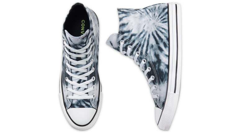 Converse Chuck Taylor All Star Twisted Vacation Black Lemongrass Middle thumbnail image