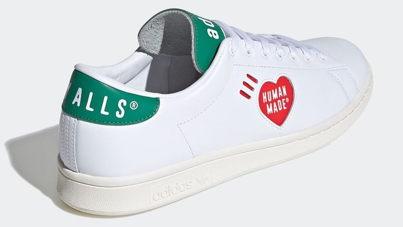 Human Made x adidas Stan Smith White Back