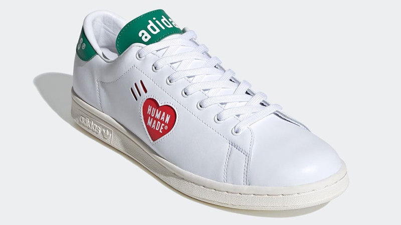 Human Made x adidas Stan Smith White Front