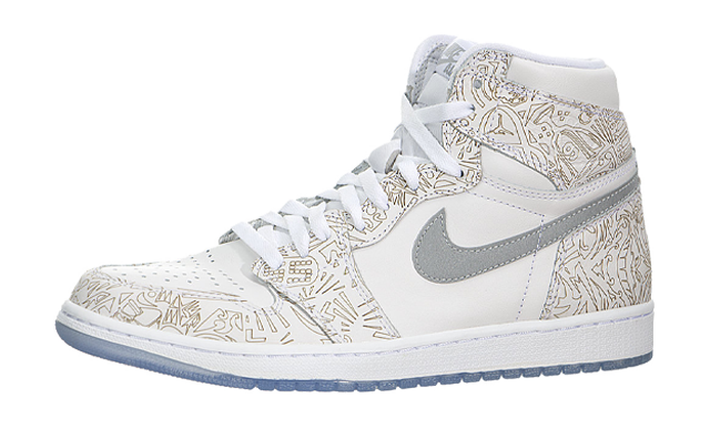 Jordan 1 High Laser White