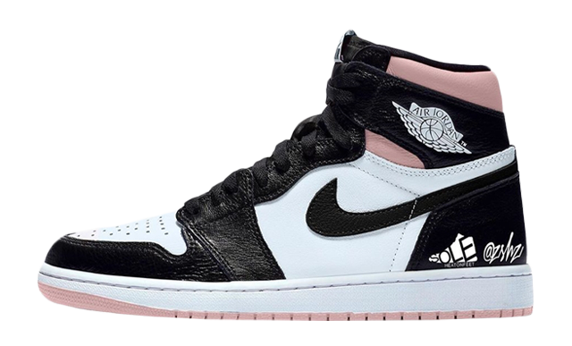Jordan 1 High OG Arctic Punch Black White