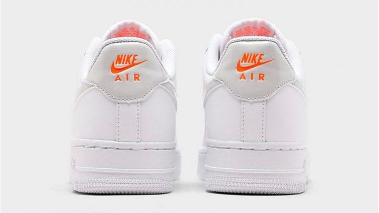 Nike Air Force 1 07 Premium White Pink Foam Back thumbnail image