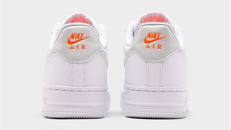 Nike Air Force 1 07 Premium White Pink Foam Back
