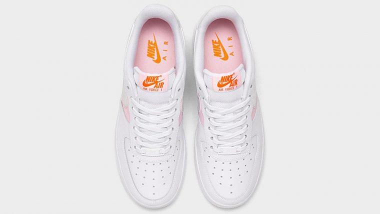 Nike Air Force 1 07 Premium White Pink Foam Middle thumbnail image