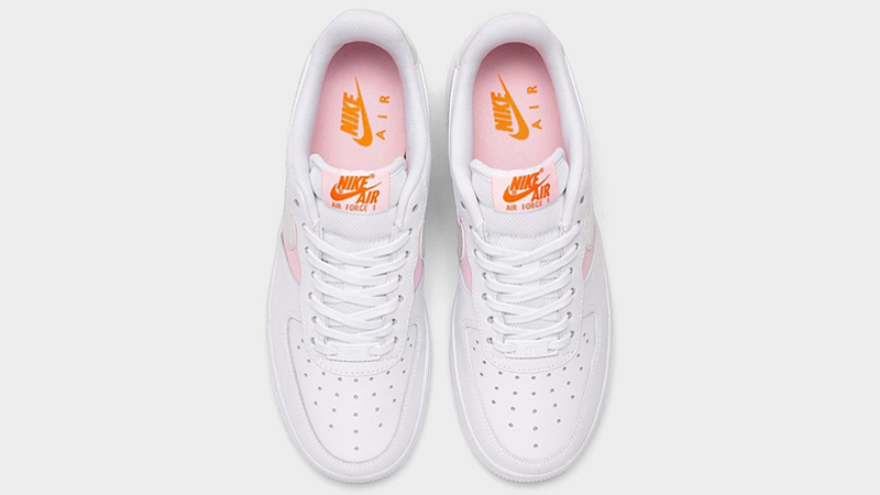 Nike Air Force 1 07 Premium White Pink Foam Middle